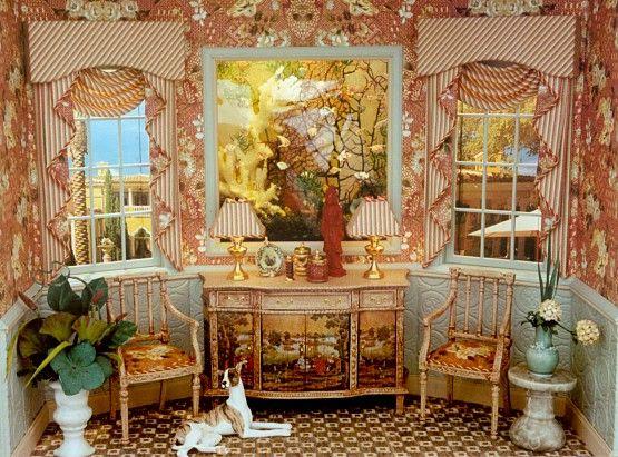 Brook Tucker miniature room