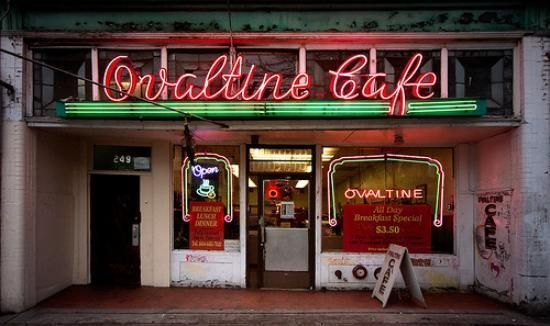 The Ovaltine Cafe is a classic greasy spoon diner, nestled in Vancouver's Chinatown.