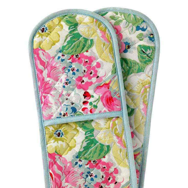 Orchard Bloom Double Oven Glove   Oven Gloves   CathKidston