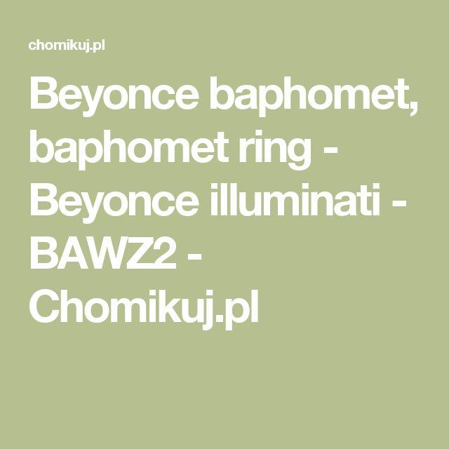 Beyonce baphomet, baphomet ring - Beyonce illuminati - BAWZ2 - Chomikuj.pl