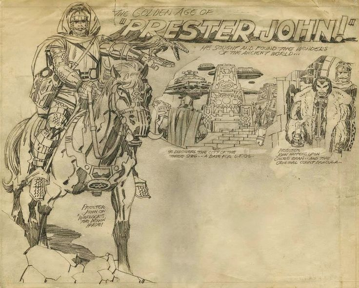 Prester John by King Kirby