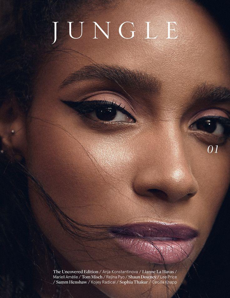 Jungle Magazine - Edition 01 - Featuring Lianne La Havas on the cover - www.jungle-magazine.co.uk