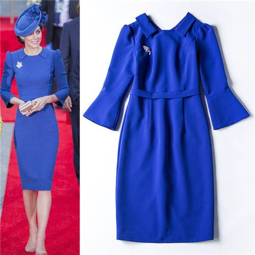 Like and Share if you want this  women dresses free shipping lady dresses 2016  princess kate middleton dress blue rurn down collar black elegant dress sheath     Tag a friend who would love this!     FREE Shipping Worldwide     Buy one here---> http://onlineshopping.fashiongarments.biz/products/women-dresses-free-shipping-lady-dresses-2016-princess-kate-middleton-dress-blue-rurn-down-collar-black-elegant-dress-sheath/
