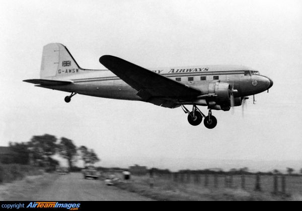 Derby Airways Douglas Dc 3 The Legendary Douglas Dc 3