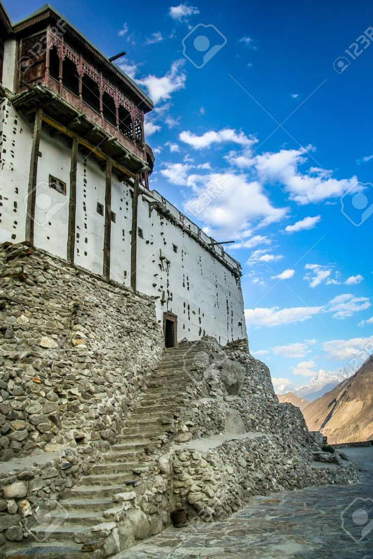 ,Baltit Fort is an ancient fort in the Hunza valley in Gilgit-Baltistan, Pakistan. Founded in the 8th CE, it has been on the UNESCO World Heritage Tentative list since 2004.
