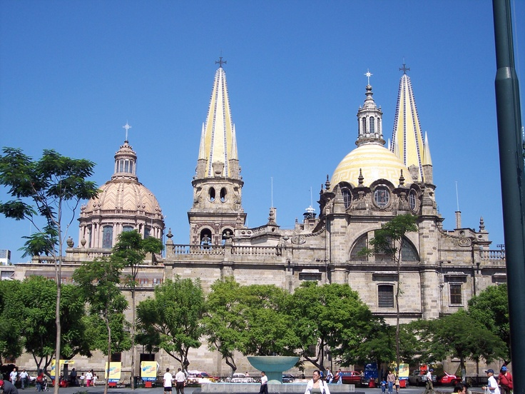 The Guadalajara Cathedral in Mexco