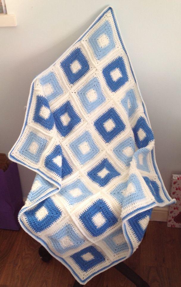 Hand Crochet Blanket ❤️