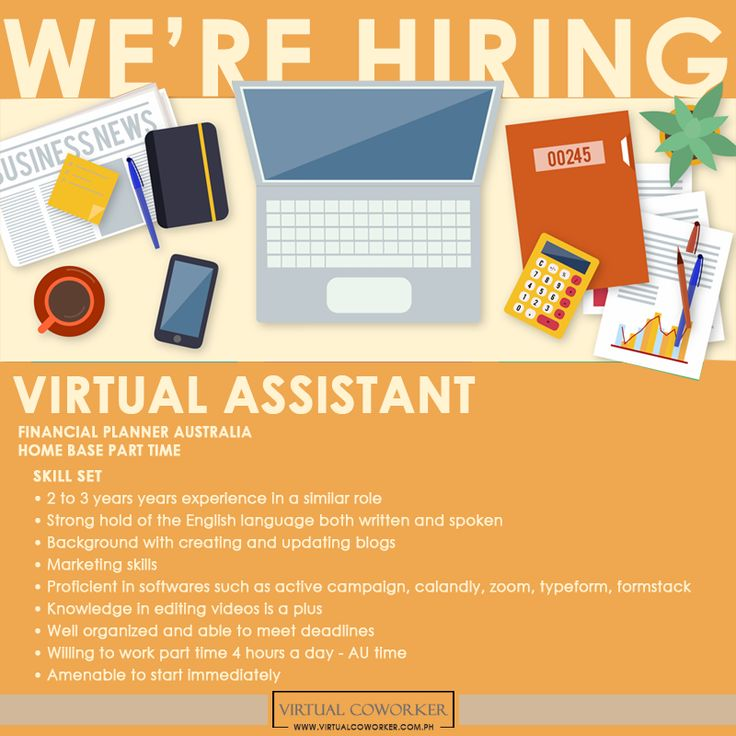 Looking for a Home Based Job? We are HIRING **Part Time ...
