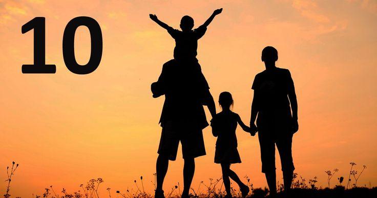 Если вы будете следовать этим «Десяти заповедям для родителей», то это улучшит ваши взаимоотношения с детьми.