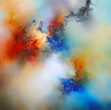"Saatchi Online Artist Simon Kenny; Painting, ""Duality"" #art"