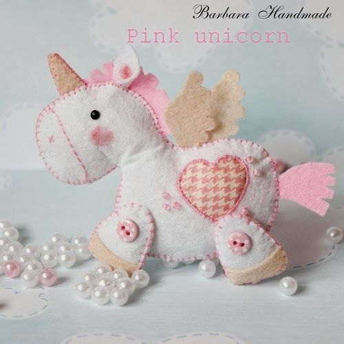 Barbara Handmade, cute felt crafts, no patterns, not in English