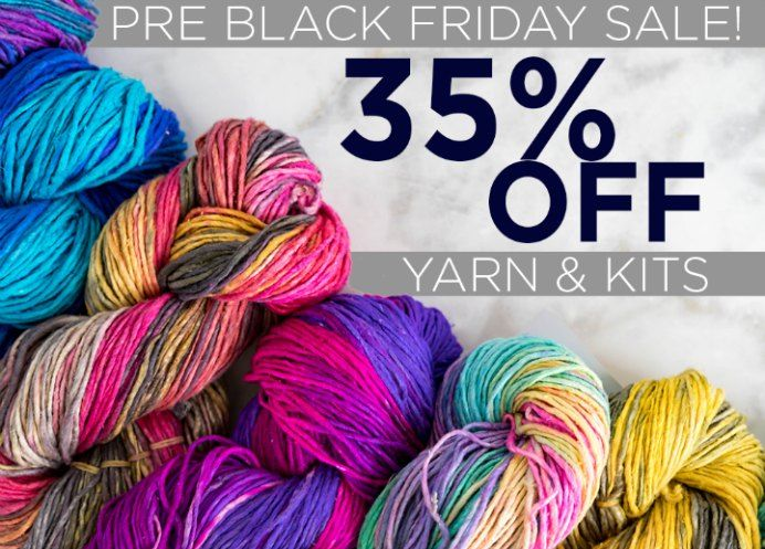 Black Friday Yarn Sale Ultimate Guide To Black Friday And Cyber Monday Knitting Sales For 2020 Pre Black Friday Sales Yarn For Sale Black Friday