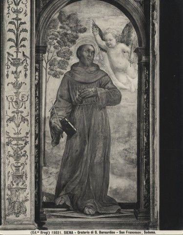 Sodoma, s. francesco - Oratorio della Compagnia di San Bernardino - Wikipedia