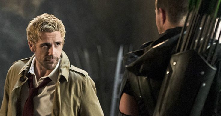 Constantine Returns in 'Arrow' Season 4 Trailer -- Get your first look at Matt Ryan as John Constantine in a new trailer and photos from next week's episode of 'Arrow', airing Wednesday, November 4. -- http://movieweb.com/arrow-season-4-constantine-trailer-photos/