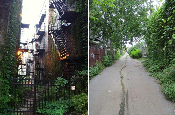 VILLE EN VERT   Les ruelles vertes de Montréal, une initiative sympa, conviviale et verte.  http://zurbaines.com/fr/ville-en-vert/ruelles-vertes-montreal/