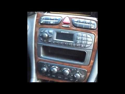 How To Remove Radio From 2003 Mercedes C240