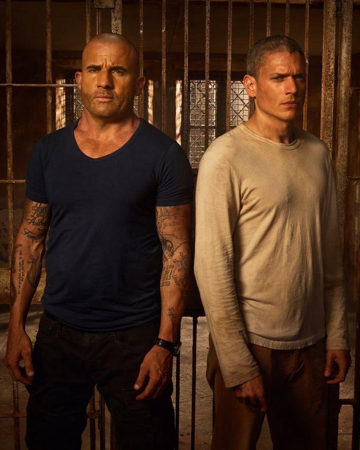 Michael And Lincoln Prison Break Prison Break Filmes Break