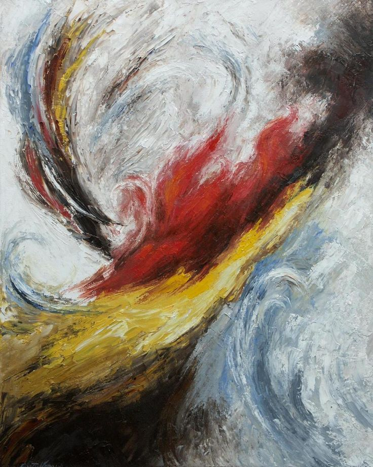 Abstract Oil Paintings On Pinterest