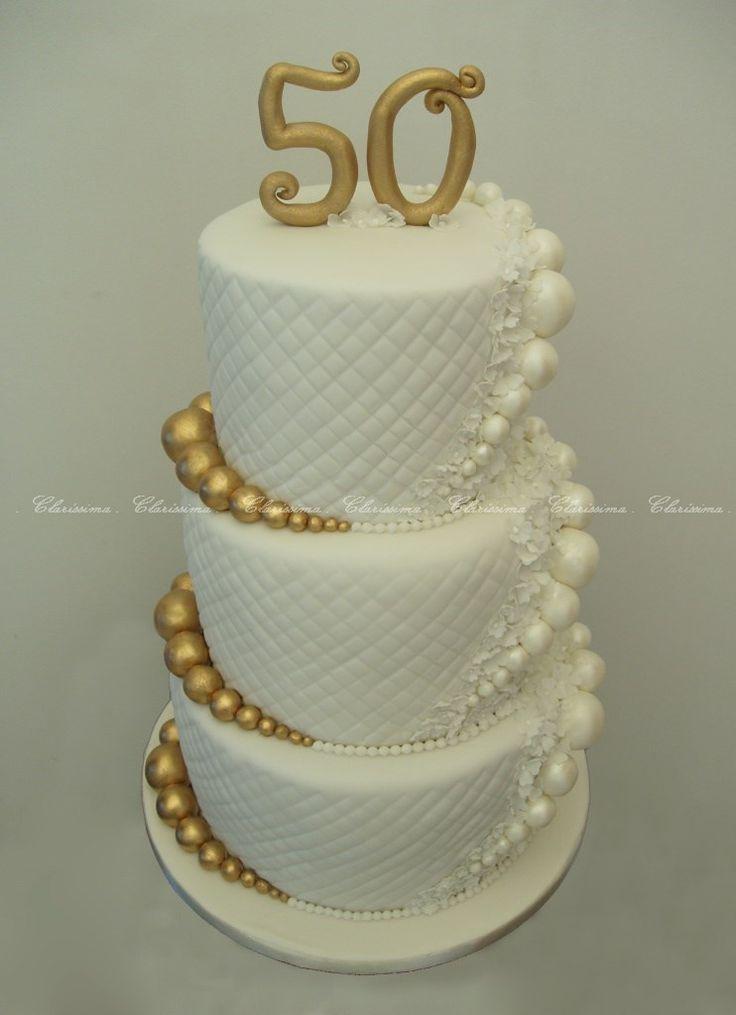 Golden wedding cake inspired by Djalma Reinaldo cake / Bolo Bodas de Ouro inspirado num bolo de Djalma Reinaldo