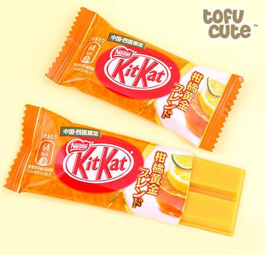 Buy Japanese Kit Kat Citrus Golden Blend - Set of 2 at Tofu Cute