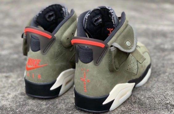 Travis Scott Air Jordan 6 Air Jordans Nike Air Shoes Jordan 6