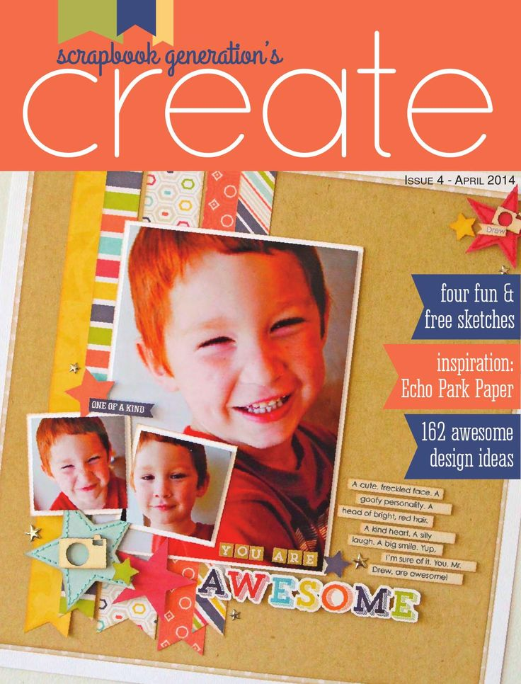 Free ISSUU - CREATE: Issue 4, April 2014 by Scrapbook Generation