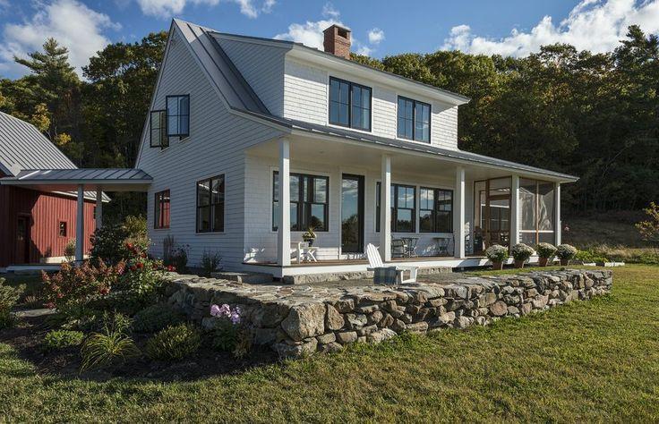 Farmhouse windows exterior farmhouse with new england