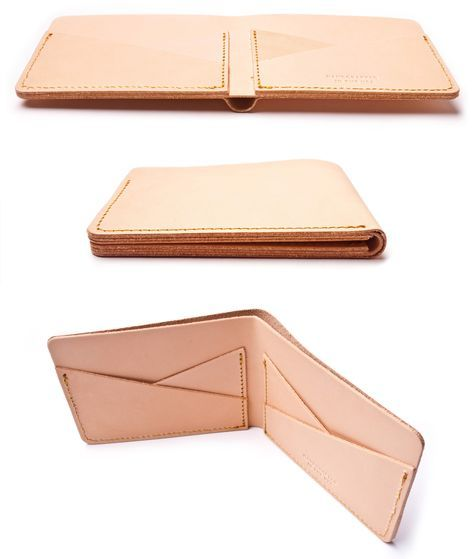 how to make a leather wallet pattern