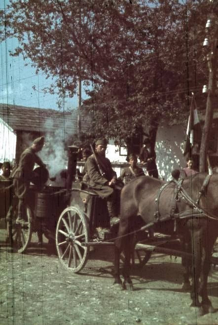 Gulyáságyú - Észak-Erdély, 1940. Fotó: Fortepan