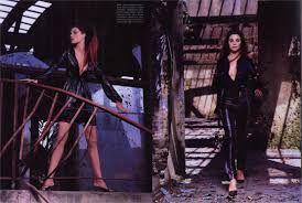 Image result for 2000s vogue magazine spread