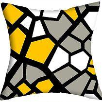 WYPRZEDAŻ! 2 różne geometryczne liście , dodatki - poduszki, poszewki