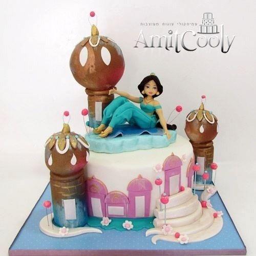 Princess jasmine - Cake by Nili Limor