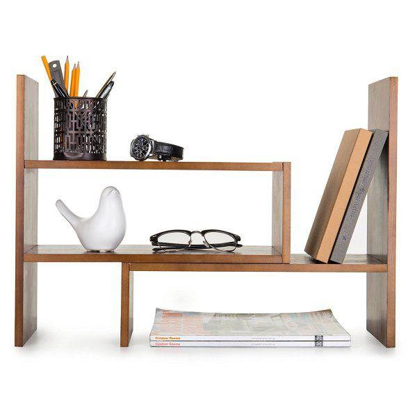 Simplehouseware Mesh Desk Organizer Desk Shelves Desktop Shelf