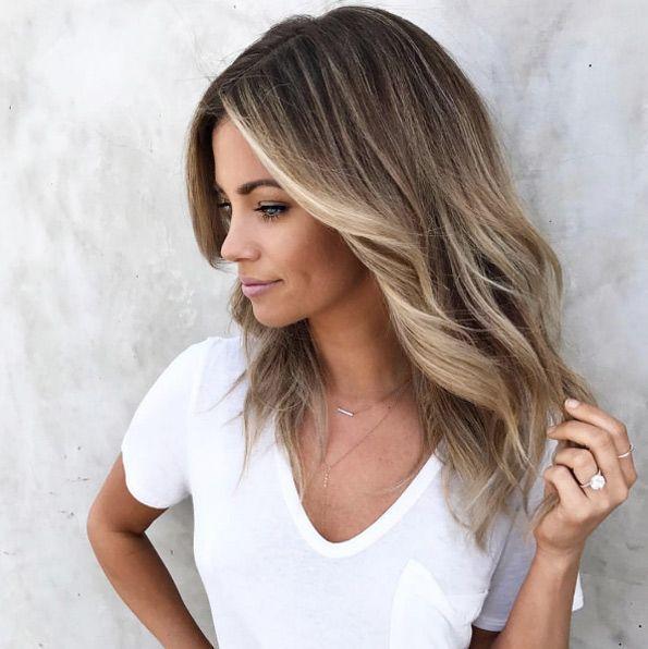 10 blonde und braune Highlights für einen frische…