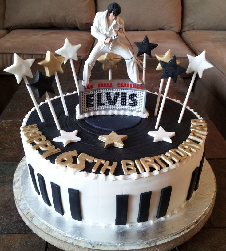 Image Result For Happy Birthday Elvis Cake