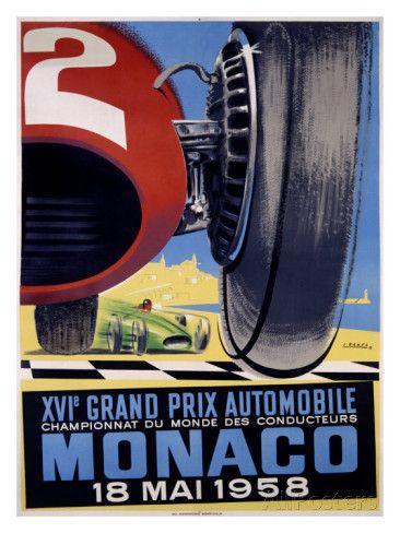 Grand Prix automobile de Monaco, 1958