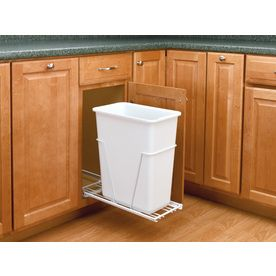 Narrow Pull Out Trash Can For Cabinet Between Sink And