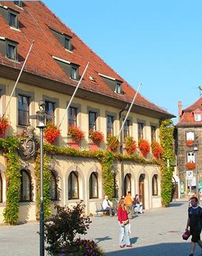 Erlangen - where we lived for 2 wonderful years. Wir lieben Deutschland.