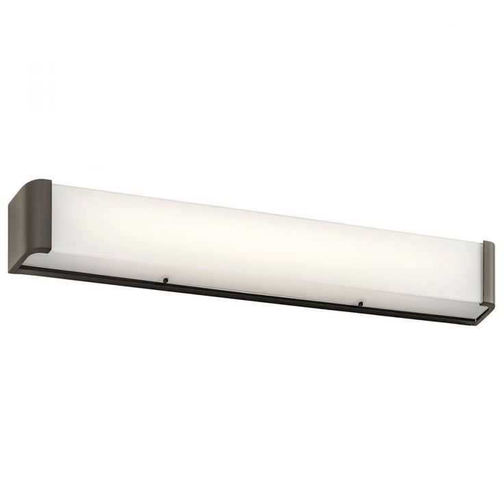 Landi 36  Linear LED Bath Bar in Olde Bronze   Kichler   45618OZLED http. 13 best Hair Salon Design images on Pinterest