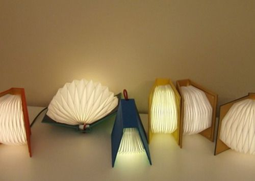 let literature shine a light..: Book Art, Studios, Book Table, Book Lights, Design, Book Lamps