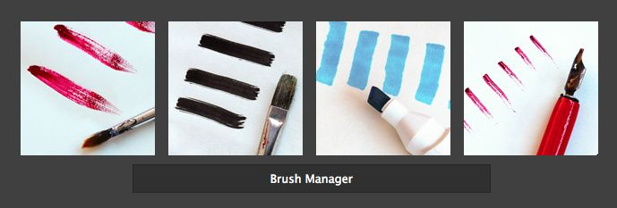 Where are my brushes? - mini tutorial on the PhotoDonut blog