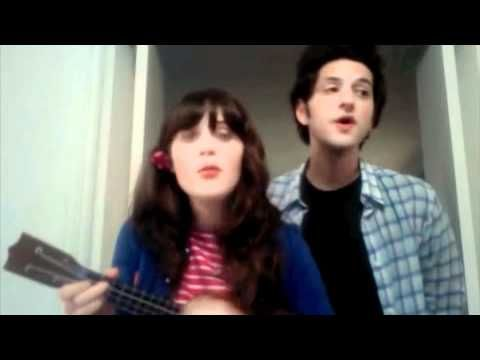 "Zooey Deschanel and Ben Schwartz singing ""Tonight You Belong to Me"". Your heart needs to listen to this."