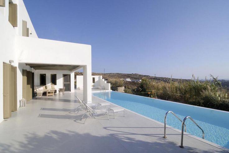Enjoy this amazing sea view in this luxury Greek island villa in Mykonos...☀️