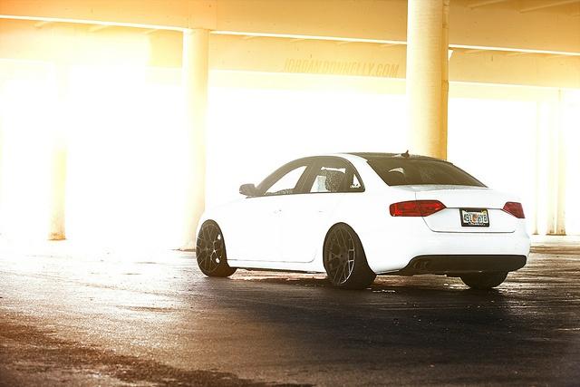 Slammered Audi A4