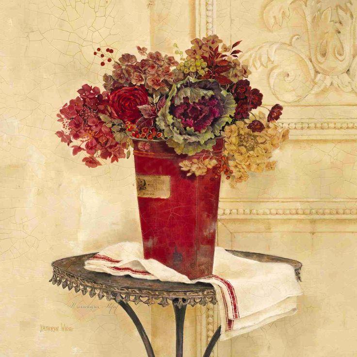 Linen and Hydrangeas (Kathryn White)