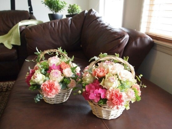Small flower basket $65.00