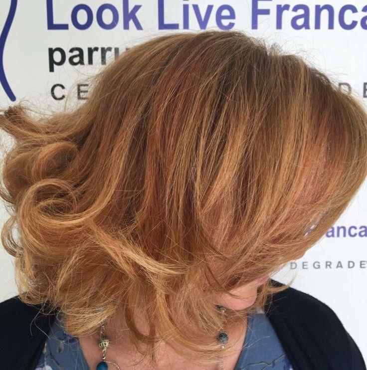 Amiamo ciò che emana bellezza al di là di modi e mode! Degradè Ramato!  #hairstyle #haircolor #hairfashion #degradè #davines #sustenaiblebeautypartner #bcorp #centrodegradè #looklivefrancaparrucchieri #viadeimirti29 #ragusa