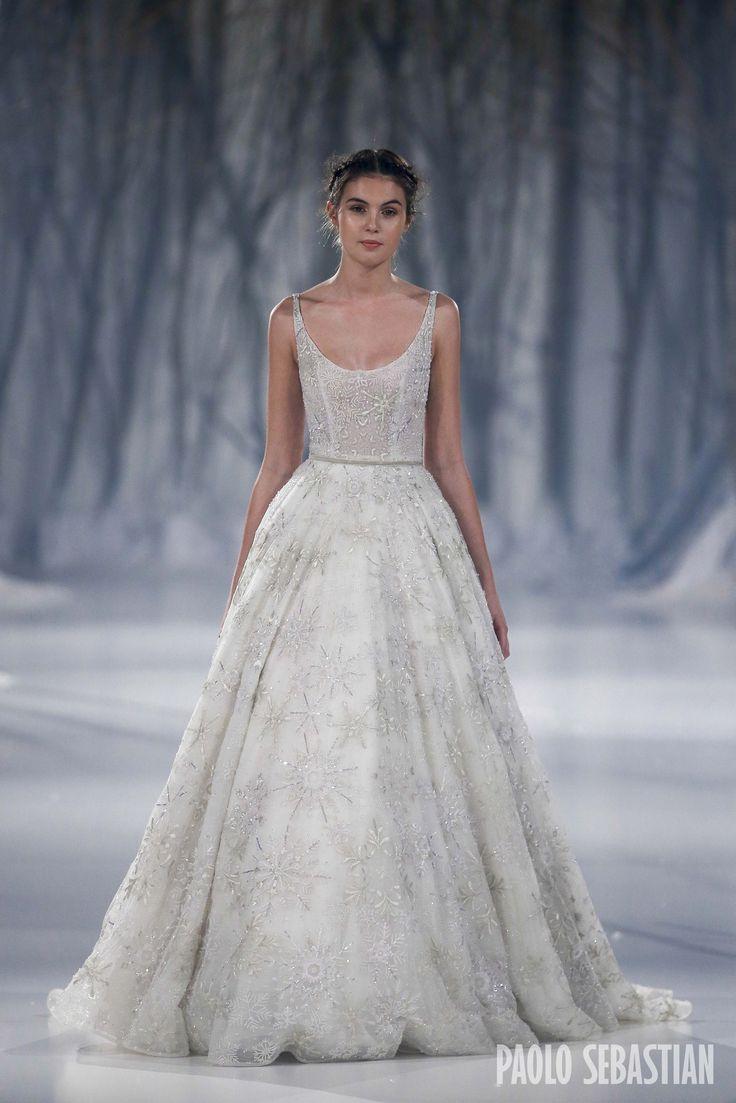 Paolo Sebastian 2016 A W Couture - The Snow Maiden