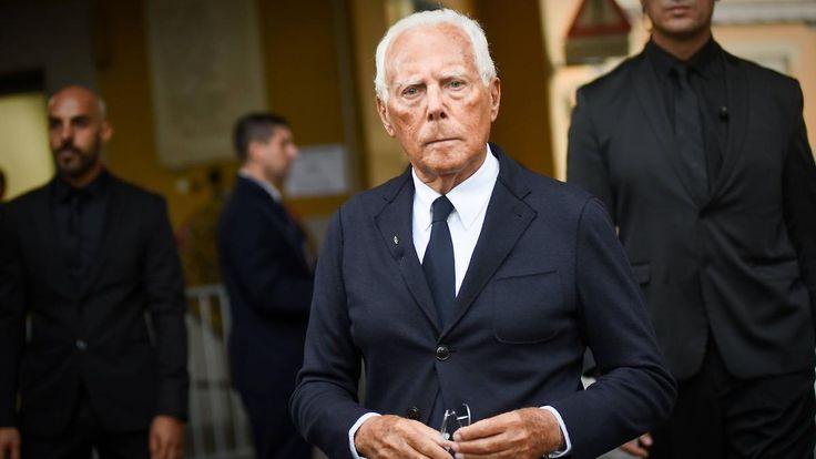 Unerklärliche Schau-Absage: Armani noch immer empört über Paris
