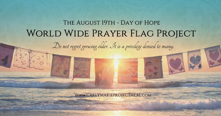 CarlyMarie Project Heal | August 19th – Day of Hope – The Prayer ...